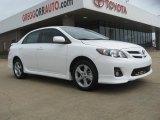 2011 Super White Toyota Corolla S #49244911