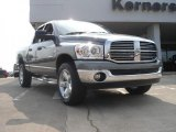 2008 Mineral Gray Metallic Dodge Ram 1500 Big Horn Edition Quad Cab 4x4 #49245096