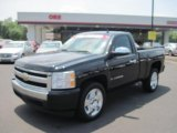 2008 Black Chevrolet Silverado 1500 Work Truck Regular Cab #49244932