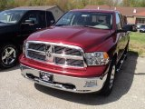 2011 Deep Cherry Red Crystal Pearl Dodge Ram 1500 Big Horn Quad Cab 4x4 #49245141