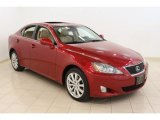 2008 Matador Red Mica Lexus IS 250 AWD #49245146