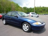 2002 Indigo Blue Metallic Chevrolet Cavalier LS Sedan #49300058
