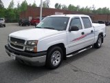 2005 Summit White Chevrolet Silverado 1500 LS Crew Cab #49300442