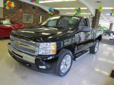 2011 Black Chevrolet Silverado 1500 LT Regular Cab 4x4 #49299896