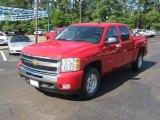 2011 Victory Red Chevrolet Silverado 1500 LT Crew Cab 4x4 #49300453