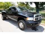 2004 Dodge Ram 3500 ST Quad Cab 4x4 Dually Front 3/4 View