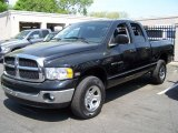 2004 Black Dodge Ram 1500 SLT Quad Cab 4x4 #49300456