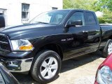 2009 Brilliant Black Crystal Pearl Dodge Ram 1500 Big Horn Edition Quad Cab 4x4 #49300457