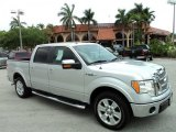 2010 Ingot Silver Metallic Ford F150 Lariat SuperCrew #49299905