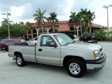 2004 Silver Birch Metallic Chevrolet Silverado 1500 LS Regular Cab #49299906