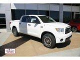 2011 Super White Toyota Tundra TRD Rock Warrior CrewMax 4x4 #49299698