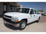 Summit White Chevrolet Silverado 1500 in 2001