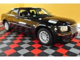 2008 Brilliant Black Crystal Pearl Chrysler 300 Touring #49300294