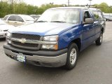 2003 Arrival Blue Metallic Chevrolet Silverado 1500 Regular Cab #49299735