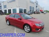 2011 Red Candy Metallic Ford Fusion Sport #49299753
