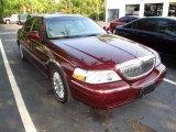 2004 Autumn Red Metallic Lincoln Town Car Signature #49299782