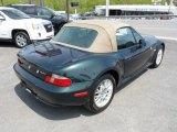 2002 BMW Z3 Oxford Green Metallic