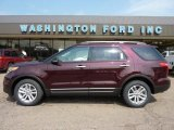 2011 Bordeaux Reserve Red Metallic Ford Explorer XLT #49300164