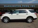 2011 White Suede Ford Explorer FWD #49300166