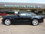 2011 Ebony Black Ford Mustang GT Convertible #49300173