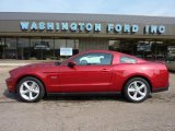 2011 Red Candy Metallic Ford Mustang GT Coupe #49300174