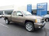 2011 Mocha Steel Metallic Chevrolet Silverado 1500 LT Extended Cab 4x4 #49300044