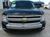2007 Black Chevrolet Silverado 1500 LT Z71 Crew Cab 4x4 #49300389
