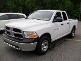 2011 Bright White Dodge Ram 1500 ST Quad Cab #49362025
