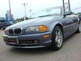 2001 Steel Blue Metallic BMW 3 Series 330i Convertible #49361816