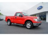 2011 Race Red Ford F150 XLT Regular Cab #49361891