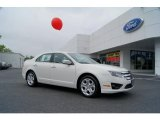 2011 White Suede Ford Fusion SE #49361892