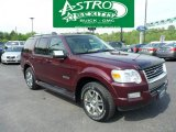 2006 Dark Cherry Metallic Ford Explorer Limited 4x4 #49362076