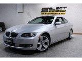 2008 Titanium Silver Metallic BMW 3 Series 335i Coupe #49361854