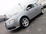 2008 Quartz Grey Metallic Audi A4 2.0T quattro S-Line Sedan #49361751