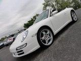 2008 Carrara White Porsche 911 Carrera Cabriolet #49361752