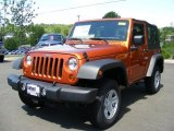 2011 Mango Tango Pearl Jeep Wrangler Rubicon 4x4 #49362009