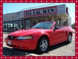 2000 Performance Red Ford Mustang GT Convertible #4933130