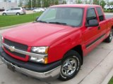 2004 Victory Red Chevrolet Silverado 1500 LS Extended Cab #49390690