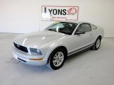 2006 Satin Silver Metallic Ford Mustang V6 Premium Coupe #49390168