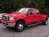2005 Red Ford F350 Super Duty Lariat Crew Cab 4x4 Dually #49390695
