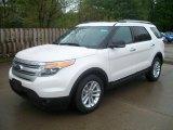 2011 White Platinum Tri-Coat Ford Explorer XLT #49390696