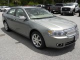 2008 Moss Green Metallic Lincoln MKZ AWD Sedan #49390540