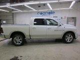2011 Bright White Dodge Ram 1500 Laramie Crew Cab 4x4 #49390468