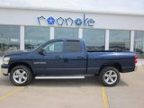 2007 Patriot Blue Pearl Dodge Ram 1500 Big Horn Edition Quad Cab 4x4 #49390476