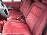 1994 Chevrolet C/K K1500 Z71 Extended Cab 4x4 Red Interior