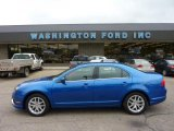 2011 Blue Flame Metallic Ford Fusion SEL V6 #49390557