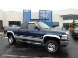2001 Patriot Blue Pearl Dodge Ram 1500 SLT Club Cab 4x4 #49390486