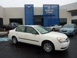 2005 White Chevrolet Malibu Sedan #49390487