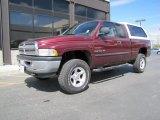 2001 Dark Garnet Red Pearl Dodge Ram 1500 SLT Club Cab 4x4 #49390647