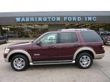 2006 Dark Cherry Metallic Ford Explorer Eddie Bauer #49390568
